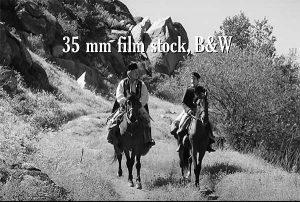 The Aferim movie is shot on 35mm film